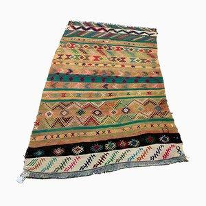 Vintage Turkish Medium Sized Shabby Kilim Rug 165x101 cm