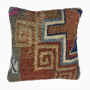 Turkish Persian Moroccan Handmade Carpet Cushion Cover