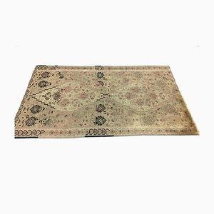 Türkischer Mittlerer Marokkanischer Mid-Shed Kilim Teppich aus Shabby Wolle 163x100cm