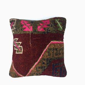 Vintage Turkish Persian Moroccan Handmade Carpet Cushion Cover