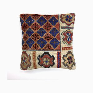 Vintage Turkish Persian Moroccan Handmade Carpet Cushion Cover