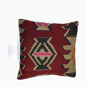Vintage Turkish Moroccan Handmade Kilim Cushion Cover