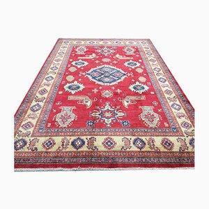 Afghan Kazak Handmade Natural Dye Wool Rug 203x291cm