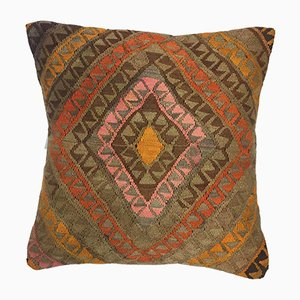 Turkish Moroccan Handmade Kilim Carpet Cushion Cover