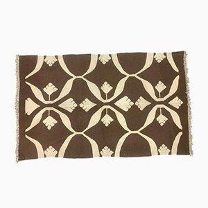 Schäbiger Vintage Türkischer Vintage Kelim Teppich in Größe 155x93 cm