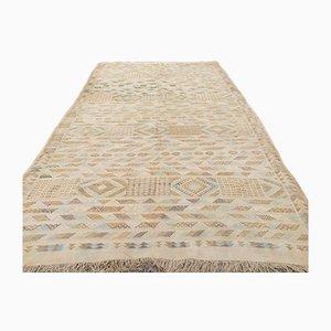 Marokkanischer Vintage Sabra Kilim Teppich aus Shabby Seide