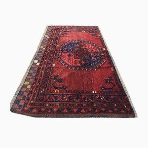 Vintage Afghan Turkmen Traditional Handmade Wool Rug 124x70cm