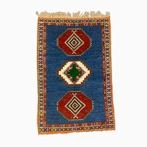 Vintage Moroccan Tazenacht Berber Tribal Rug 235x155 cm