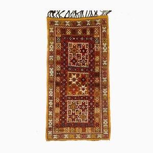 Vintage Moroccan Tazenacht Berber Tribal Rug 190x97 cm