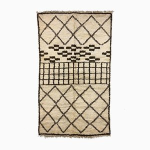 Vintage Moroccan Beni Ourain Berber Tribal Rug 290x171 cm