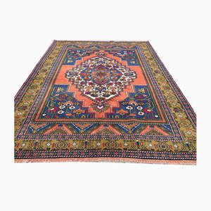Vintage Turkish Tribal Prayer Rug 228x166cm