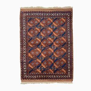 Vintage Afghan Turkoman Beshir Rug 210x150 cm