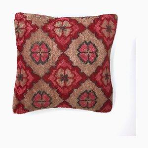 Vintage Turkish Moroccan Carpet Cushion Cover