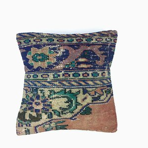 Vintage Turkish Persian Moroccan Carpet Cushion Cover