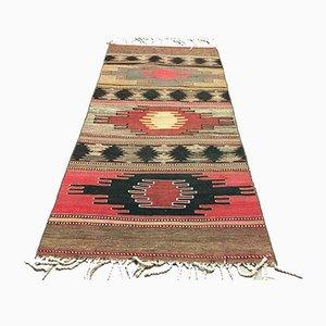 Vintage Turkish Shabby Tribal Kilim Runner Rug 172x81 cm