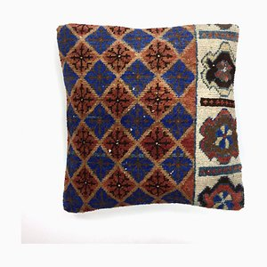 Vintage Turkish Moroccan Carpet Cushion Cover