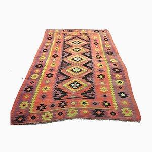 Türkischer Landhaus Vintage Kilim Teppich