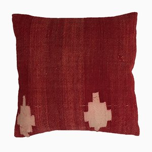 Turkish Moroccan Colorful Luxury Wool Kilim Cushion Cover