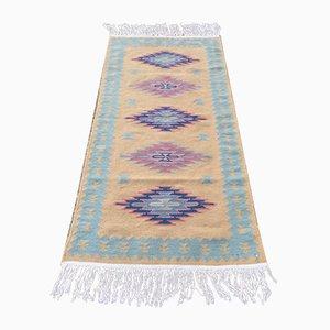 Vintage Navajo Handmade Rustic Kilim Rug