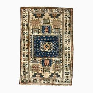 Vintage Turkish Kazak Handwoven Oriental Rug
