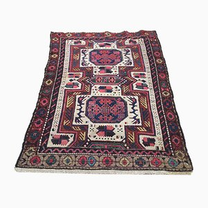 Vintage Turkish Middle East Handmade Wool Oriental Kazak Rug