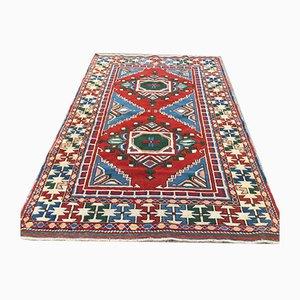 Vintage Turkish Kazak Handmade Oriental Wool Rug