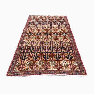 Vintage Turkish Middle East Handmade Distressed Wool tribal Rug