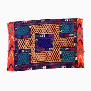Vintage Turkish Moroccan Colorful Kilim Rug