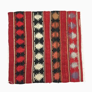 Vintage Traditional Turkish Wool Kilim Rug