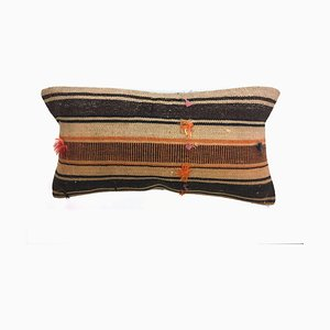 Vintage Turkish Moroccan Colorful Luxury Wool Kilim Cushion Cover