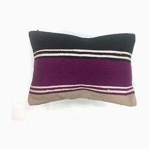Vintage Turkish Moroccan Colorful Luxury Wool Kilim Cushion Cover