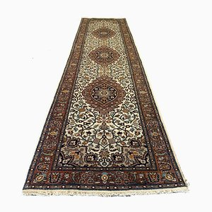 Vintage Indian Handmade Wool Tribal Long Runner Rug
