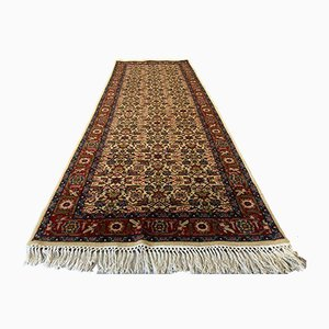 Vintage Handmade Wool Tribal Indian Long Runner Rug