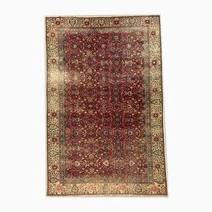 Großer Handgeknüpfter Türkischer Vintage Teppich in Tribal-Optik