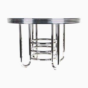 Art Deco Bauhaus Style Coffee Table, 1970s