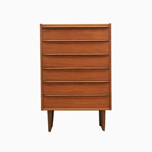 Mid-Century Teak Chest from Domino Mobelfabrik