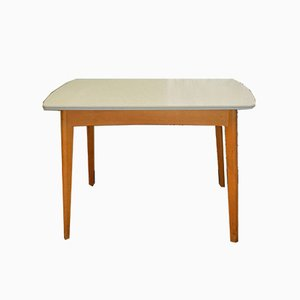 Mid-Century Gray Formica Dining Table, 1950s