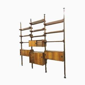 Vintage Italian Modular Shelf, 1960s
