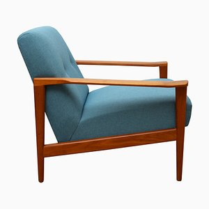 Teak Lounge Chair, 1960s