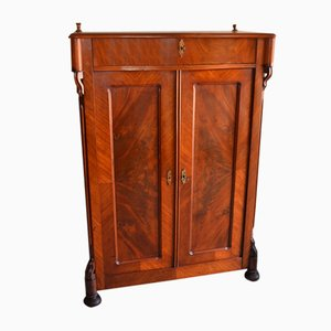 Antique Dutch Mahogany Cabinet