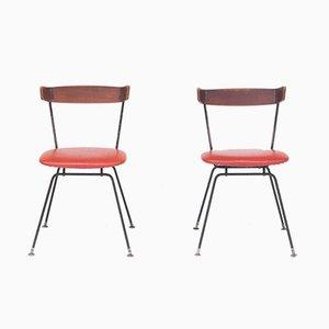 Chaises de Salon Mid-Century, 1950s, Set de 2
