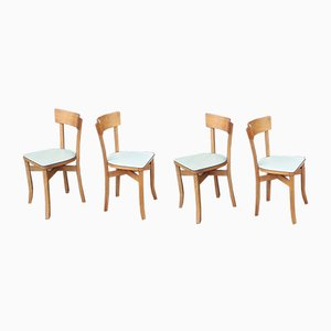 Mid-Century Dining Chairs, 1950s, Set of 4