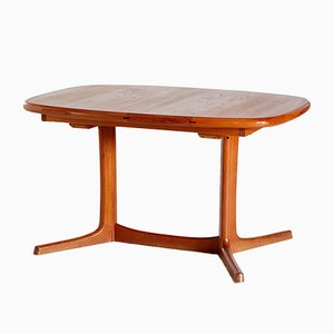 Vintage Danish Teak Dining Table from Dyrlund, 1960s