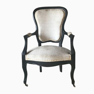 Antique Napoleon III Side Chair