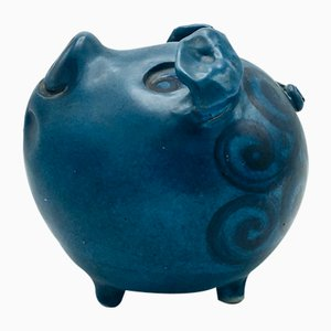 Danish Ceramic Piggy Bank from Bjorn Ceramic, 1960s