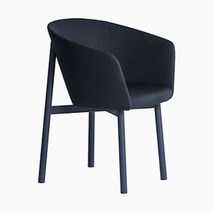 Bridge Black Residence Armchair by Jean Couvreur