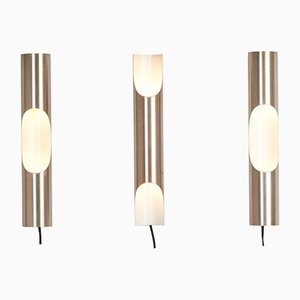 Mid-Century Fuga Sconces by Maija Liisa Komulainen for Raak, 1960s, Set of 3