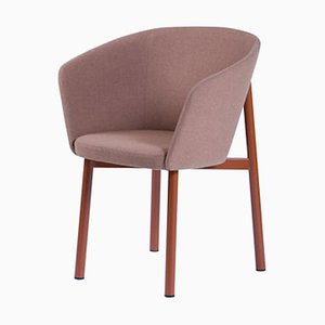 Bridge Pink Residence Armchair by Jean Couvreur