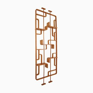 Room Divider in Blond Bentwood by Ludvik Volak for Thonet, 1960s