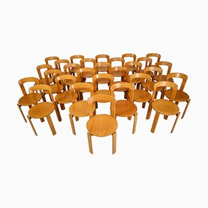 Swiss Dining Chairs by Bruno Rey for Kusch+Co, 1970s, Set of 28